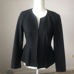 Peplum black blazer